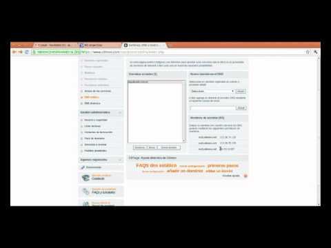 Delegación DNS en Nic.ar usando CDMon