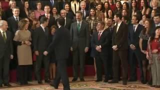 Audiencia de S.M. el Rey a la 41 promoción de letrados de la Administración de Justicia
