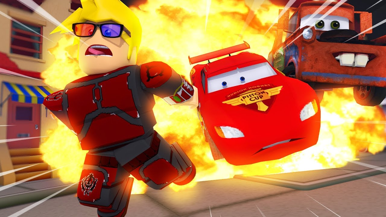 Saving Lightning Mcqueen Cars 3 Roblox Obby Youtube