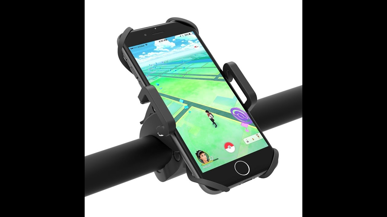TaoTronics Bike Phone Mount with Universal Cradle for iOS Android  Smartphones, GPS