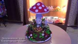 """Эксклюзивный торт на заказ """"Лесная Свадьба"""""""