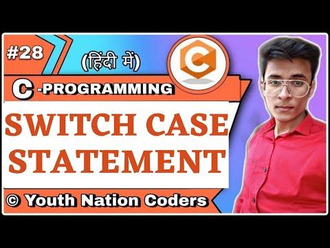 Switch Case Statement In C | Examples | Hindi | Basics | Urdu | YNC