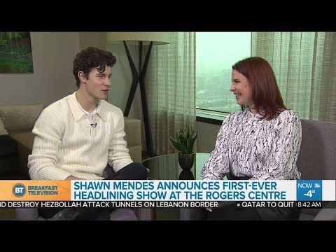 Shawn Mendes shares BIG news about Toronto concert