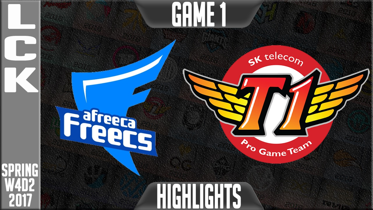 Afreeca Freecs vs SKT Game 1 - LCK W4D3 Spring 2017 - AF vs SKT G1 - YouTube