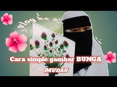 """Download Cara simple gambar """"BUNGA""""dengan MUDAH"""