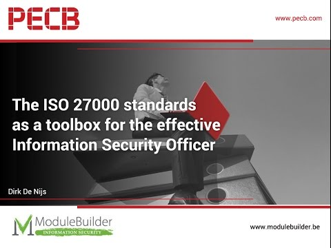 The ISO 27000 standards as a toolbox for the effective Information Security Officer