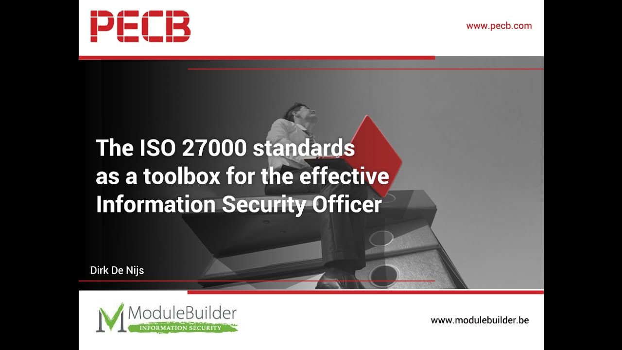 The Iso 27000 Standards As A Toolbox For The Effective Information