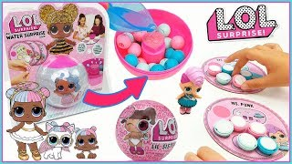 LOL Surprise serie 4 lil sister, confetti pop, pets. Jugamos a Water Surprise Game