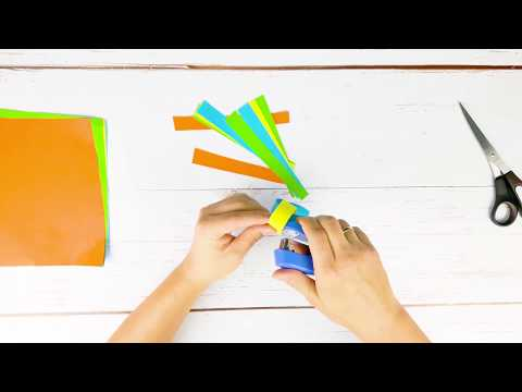 How to make a Christmas Paper Chain? DIY paper christmas decorations