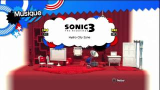 Sonic Generations - Salle des collections + Figurines