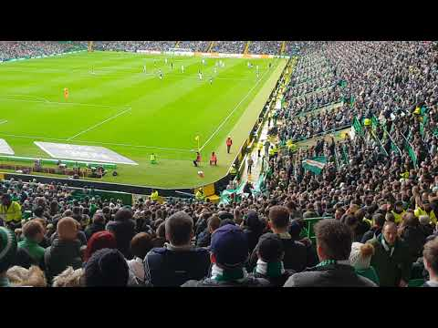 Celtic vs Hearts | Let the people sing & God bless this lovely land.