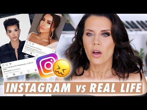INSTAGRAM LASHES vs. REAL LIFE