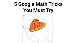 5 Google Tricks To Make Math Homework Easier