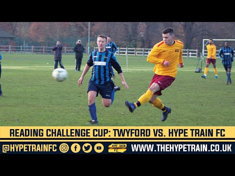 Reading Challenge Cup (Last 16) Match Highlights: Twyford & Ruscombe FC vs. Hype Train FC
