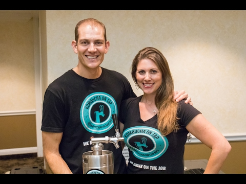 KombuchaKon 2017 Video: Kombucha On Tap Team Talks Growing Kombucha Keg Business