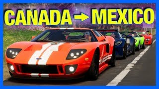 The Crew 2 Online : CANADA to MEXICO!! (Gumball Rally)