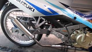 Satria 2 tak with TJZ Speed Exhaust