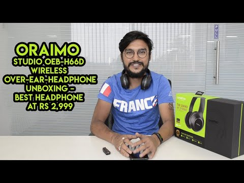 f5cc070443f Oraimo Studio OEB-H66D Wireless Over-Ear-Headphone Unboxing – Best Headphone  At Rs 2,999