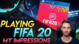 I played FIFA 20! | My Impressions & NEW Gameplay Features EXPLAINED