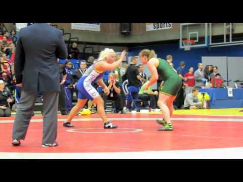 CIS Championships 2012: 72 kg Kayla Brodner vs. Sara Cattani