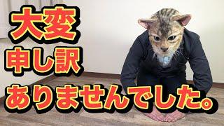 シルバーベンガル猫のミュウが妊娠しています。 猫の妊娠出産においてご視聴者様の皆さまにお伝えしたい事がございます。 詳しくは動画をご...