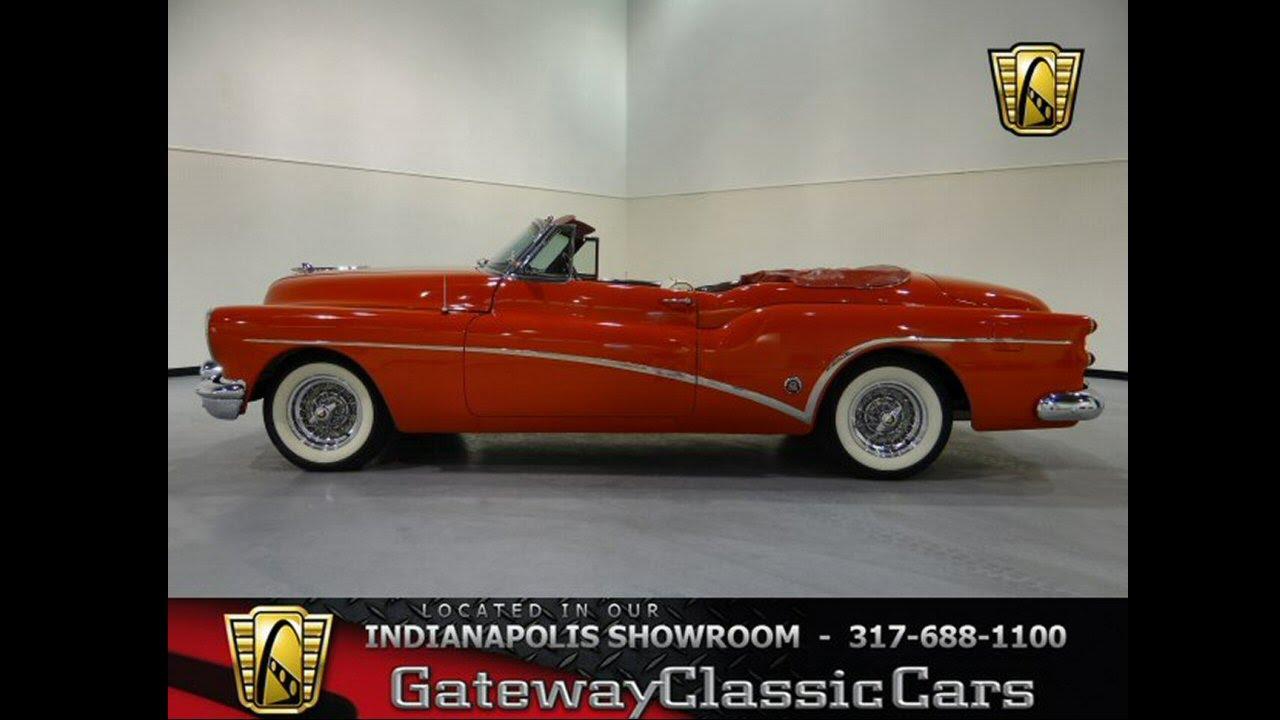 218 Ndy 1953 Buick Skylark Convertible Gateway Classic Cars 1951 Indianapolis Youtube