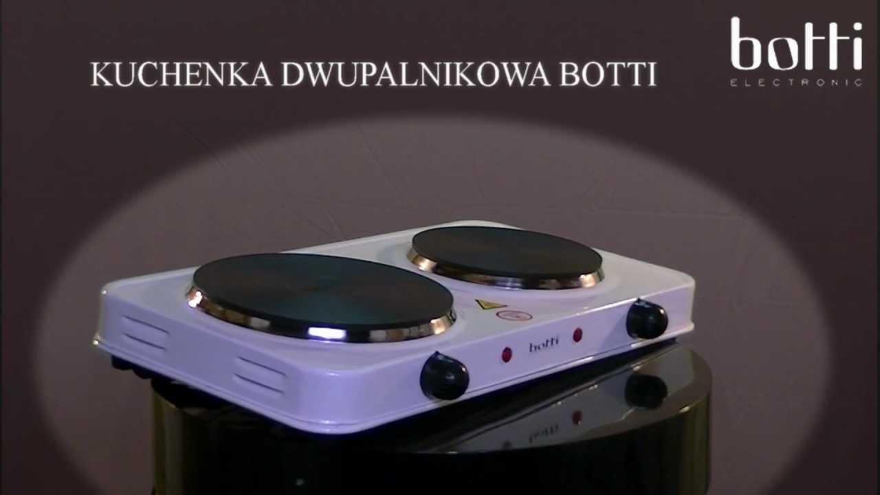 BOTTI KUCHENKA ELEKTRYCZNA 2 PALNIKI (HITYAGD)  YouTube -> Kuchenka Elektryczna Energooszczedna