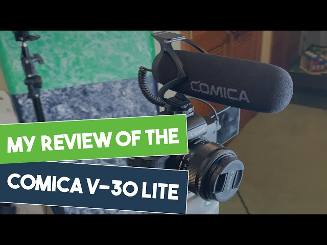 Tech Review - Comica V30 LITE Shotgun Microphone