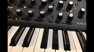Bach WTC Book 1, Fugue 2 on Moog Synthesizer