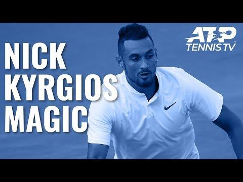 Nick Kyrgios Magic in Opening Round Win   Washington 2019