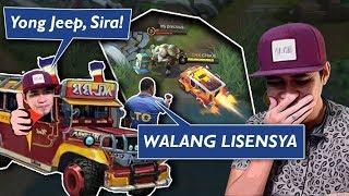 Petmalu Ako mag Drive ng Johnson na Naka-Jeepney Skin