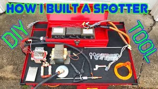 How I Built My Car Body DIY Spotter Electric Dent Puller Welder From Microwaves and How It works