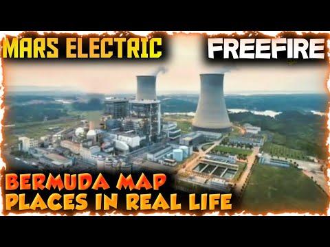 BERMUDA MAP PLACES IN REAL LIFE || GARENA FREEFIRE