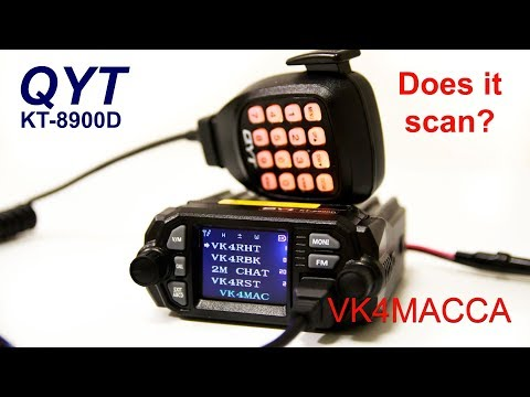 QYT KT8900D Dual Band Amateur Radio - programming and review