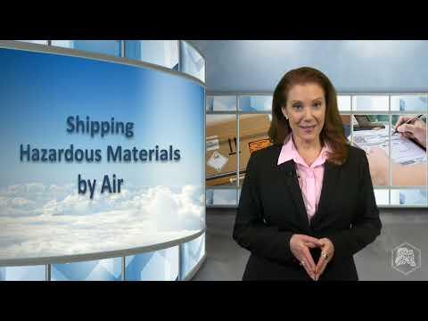 IATA Dangerous Goods Air Shipper Training Requirements (IATA DGR 1.5)