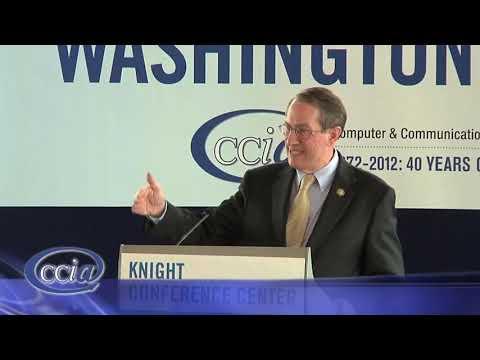 Representative Bob Goodlatte CCIA Washington Caucus 2012