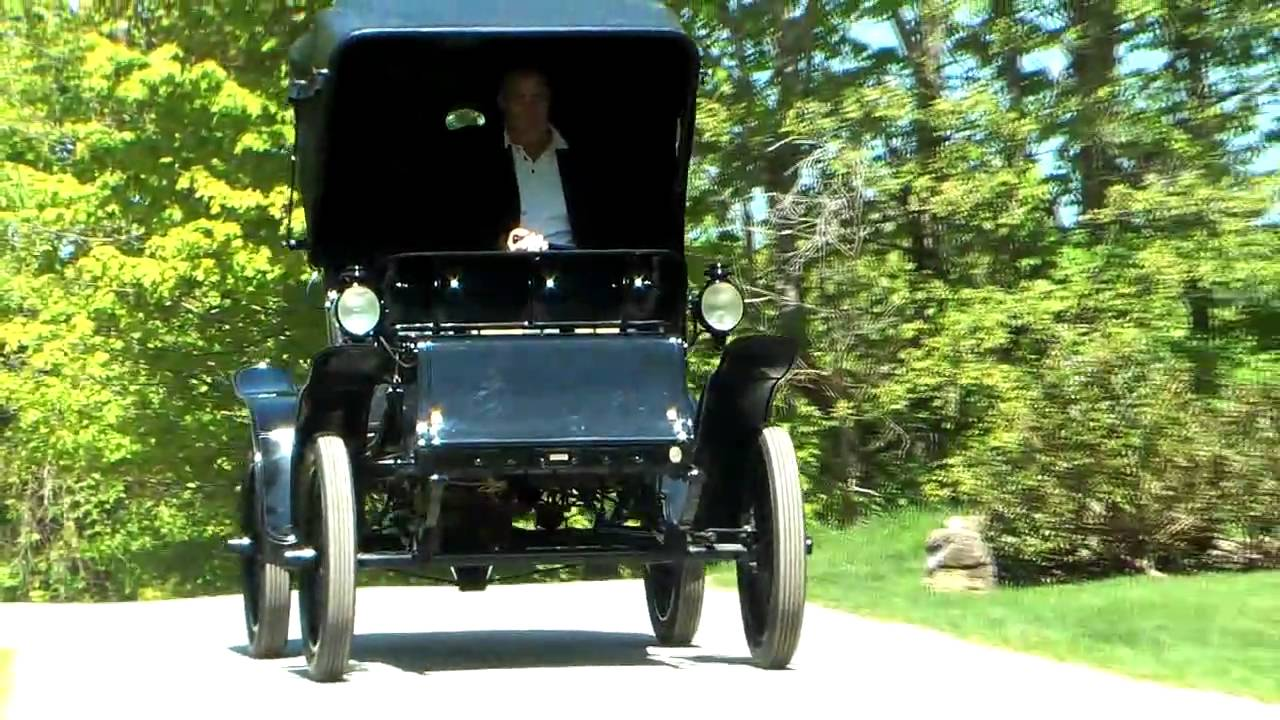 1901 baker electric car at 25 mph youtube. Black Bedroom Furniture Sets. Home Design Ideas