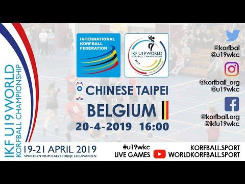 IKF U19 WKC 2019 TPE - BEL
