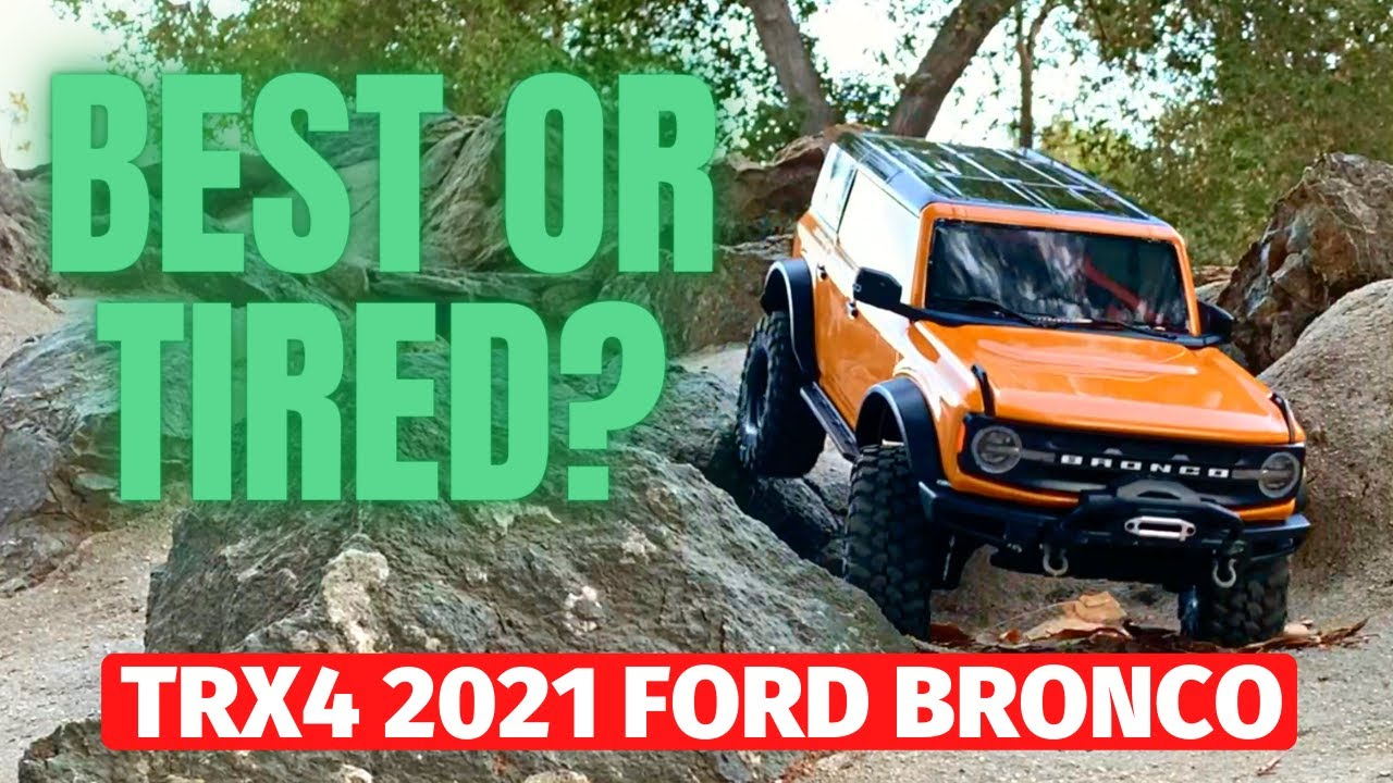 Download 2021 Ford Bronco by Traxxas TRX4 - The all new rc crawler is reviewed
