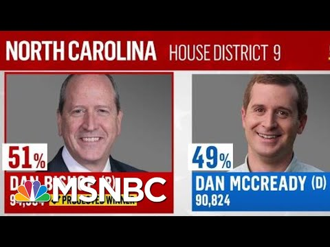 NBC News Projects Dan Bishop Wins North Carolina's Ninth District Election | The Last Word | MSNBC