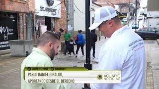 Pablo Daniel Giraldo, aportando desde el derecho