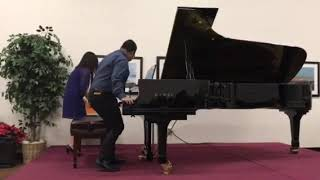 Student recital Winter 2017.