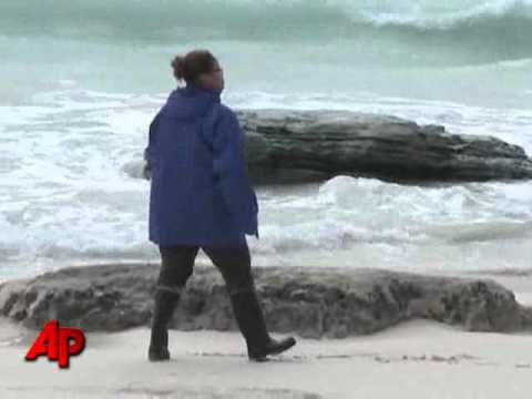 Raw Video: Bermuda After Hurricane Igor