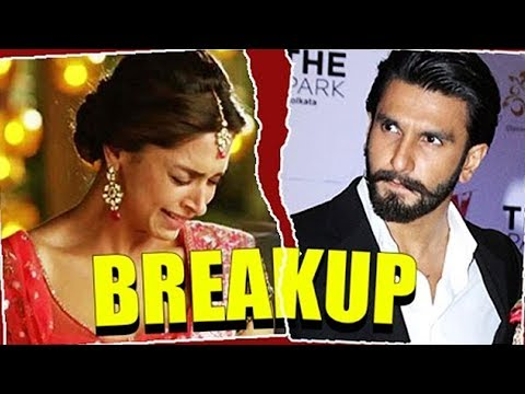 Ranveer Singh And Deepika Padukone BREAK UP Story REVEALED