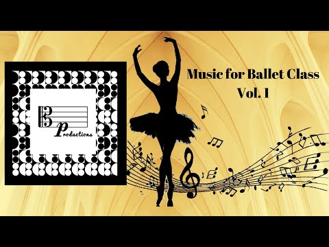 Music for Ballet Class Vol.1, 2, 3