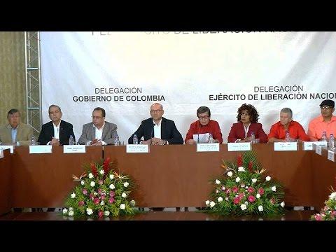 El Gobierno colombiano y la guerrilla del ELN iniciaron negociaciones de paz