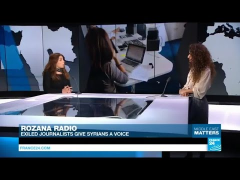 France: Discover Rozana Radio, where exiled journalists give Syrians a voice