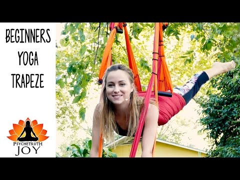 Joy Yoga #10 Back Pain Relief Yoga Trapeze Beginners Workout