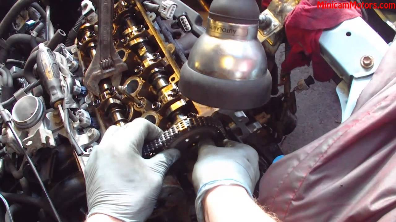 2002 yaris timing chain