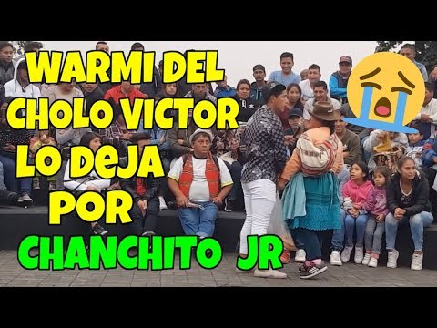 Warmi del Cholo Victor lo deja por Chanchto Jr | Comicos del Peru |  2019- Video en HD